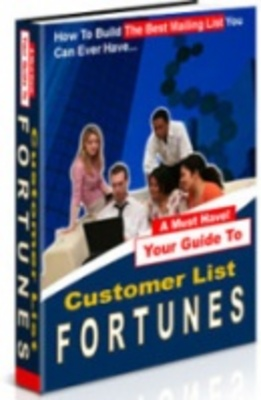 Product picture Customer List Fortunes - Online Money Maker