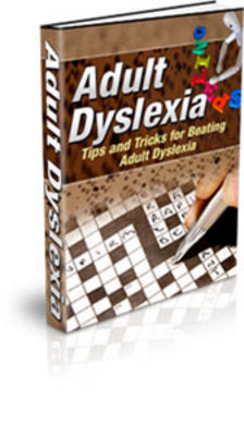 Product picture Adult Dislexia - Dislexia techniques and tips